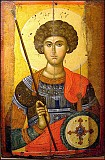Icon of St. George, our Patron and Protector.